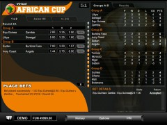 Virtual African Cup - 1X2gaming