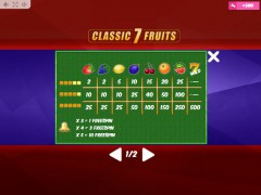 Classic7Fruits automaty77.com MrSlotty 5/5